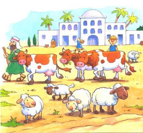 Historia Biblica Ilustrada O Filho Prodigo Ganhando Criancas