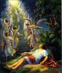 Jacob's Dream of a Ladder Genesis 28:11-12