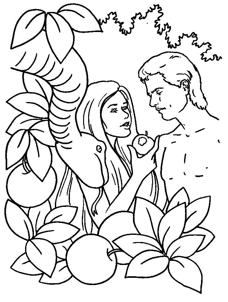 Adao E Eva Pintura Ganhando Criancas Para Jesus