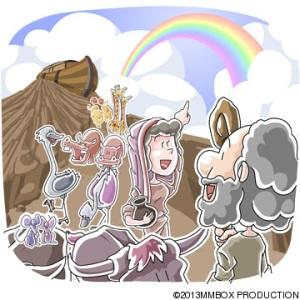 O arco íris da promessa